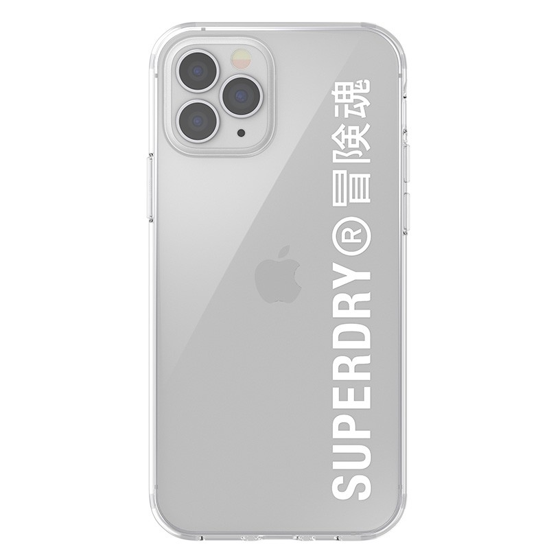 Superdry Snap Case Clear iPhone 12 / iPhone 12 Pro wht/clr 02