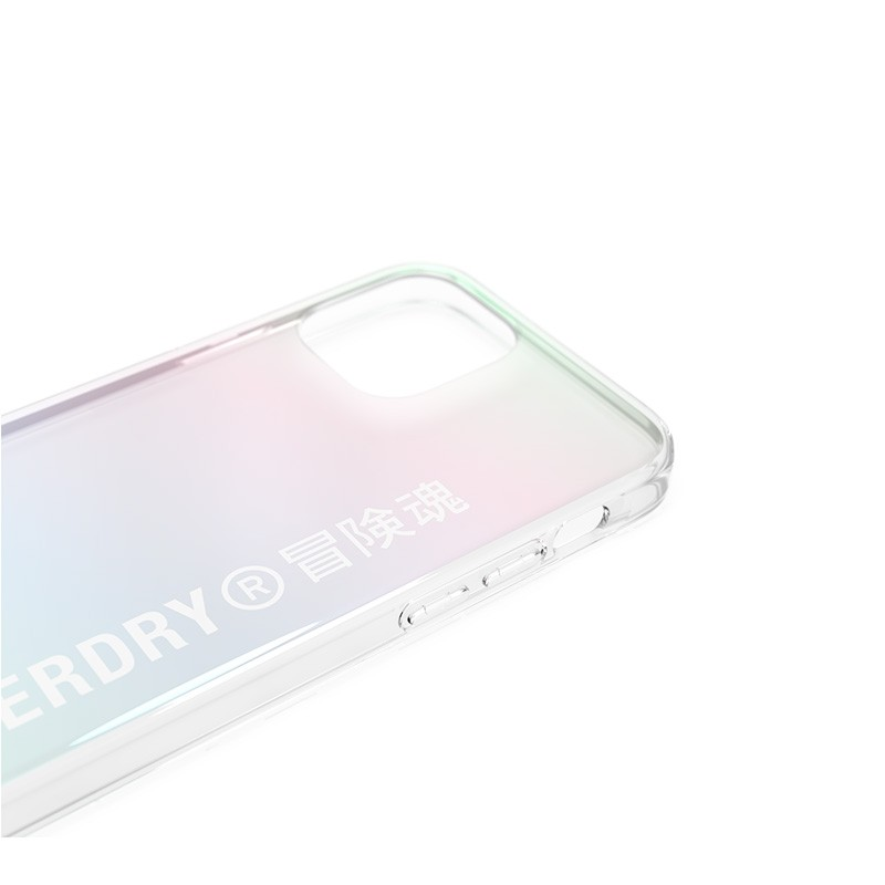Superdry Snap Case Clear iPhone 12 Mini Holographic 05