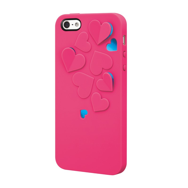 SwitchEasy Kirigami Hearts Hot Pink - 5