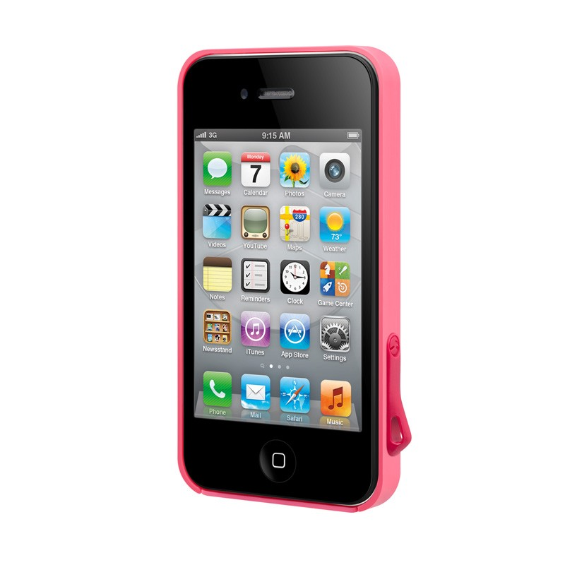 SwitchEasy Lanyard iPhone 4(S) Pink - 4
