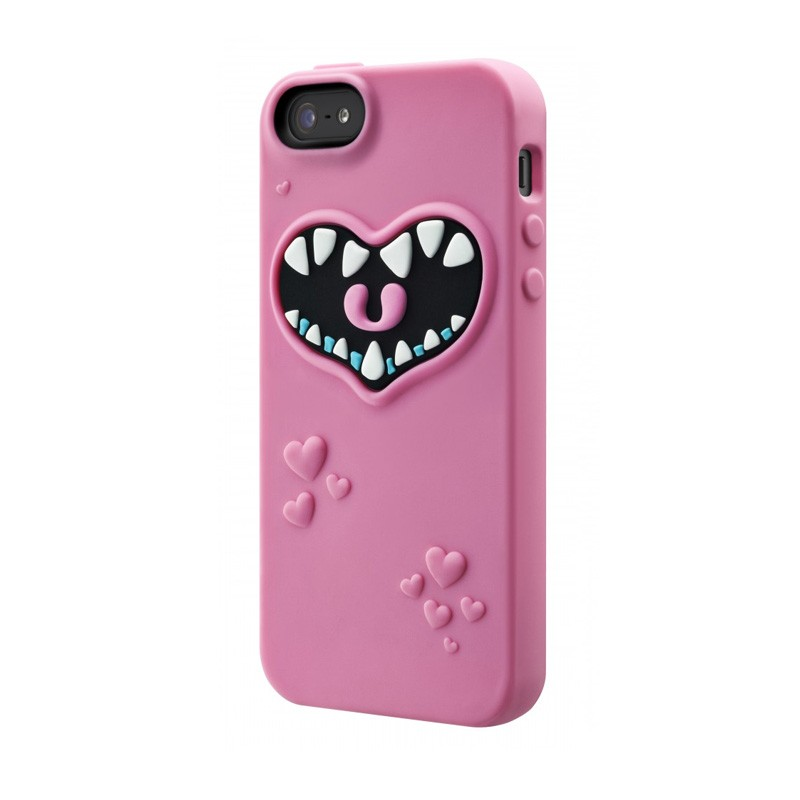 SwitchEasy Monsters iPhone 5 Pink - 2