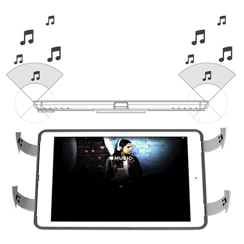 Targus - Click-In Case iPad (2017), iPad Pro 9,7, iPad Air 2 en iPad Air Rose Gold 08