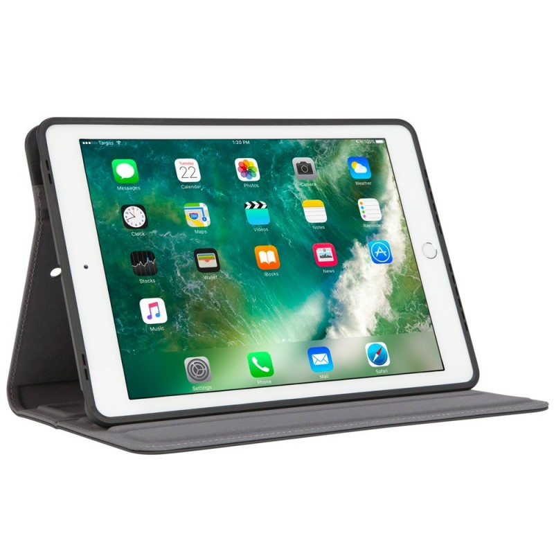 Targus Versavu Rotating Case iPad 9.7 (2017 / 2018) Zwart - 9