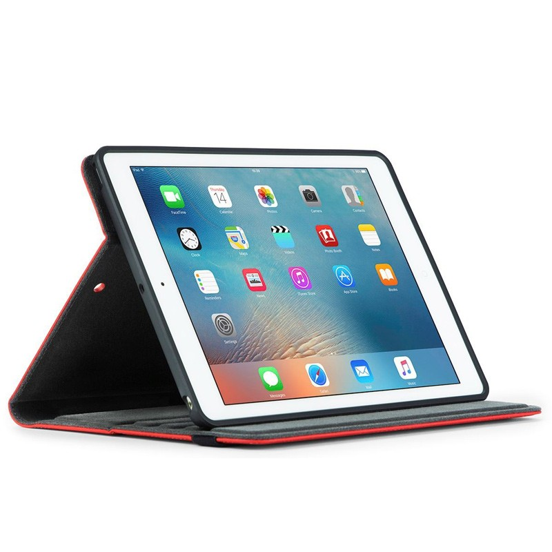 Targus - Versavu Case iPad (2017), iPad Pro 9,7, iPad Air 2 en iPad Air Red 02