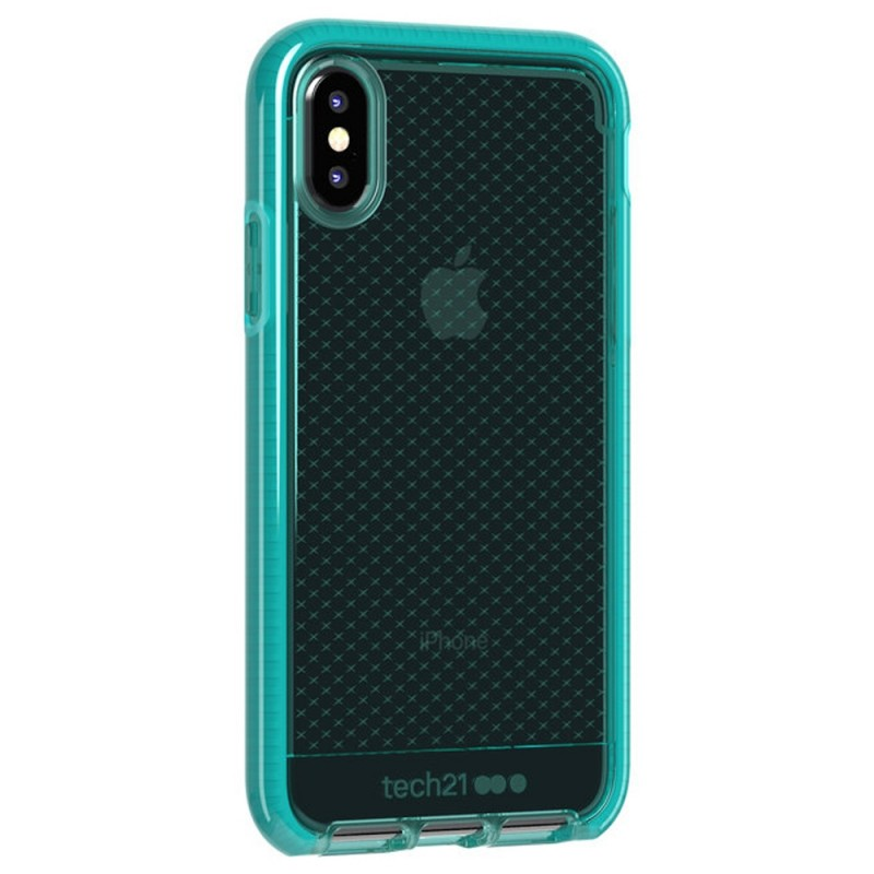Tech21 Evo Check Case iPhone X/XS Turquoise 01