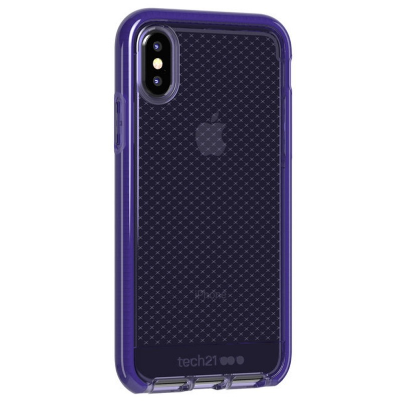 Tech21 Evo Check Case iPhone X/XS Violet 01