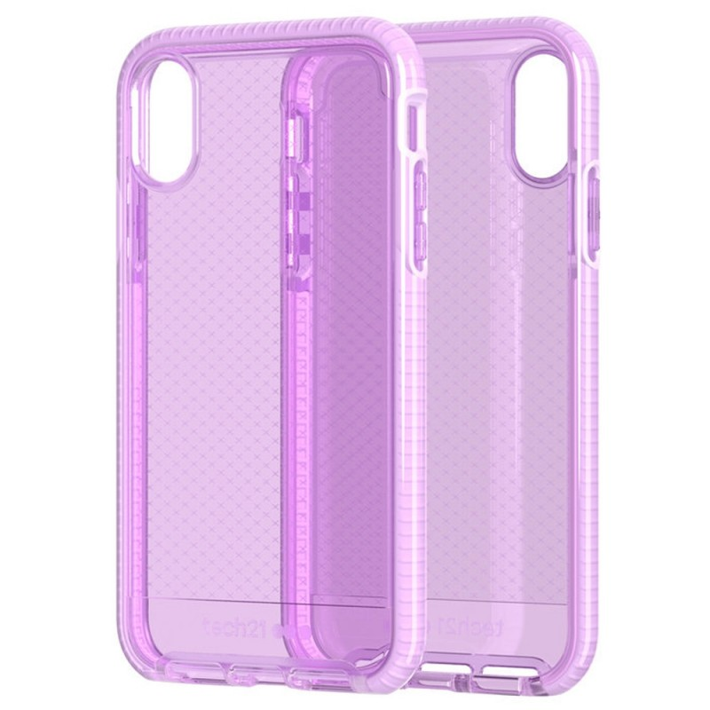 Tech21 Evo Check iPhone XR Hoesje Orchid 06