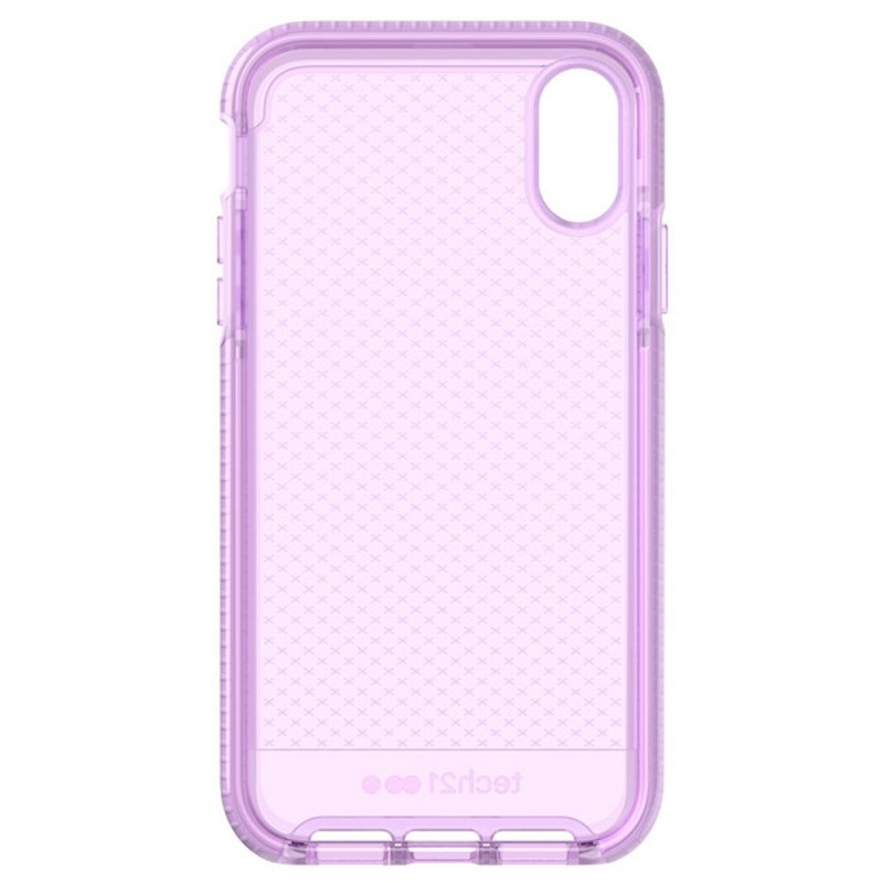 Tech21 Evo Check iPhone XR Hoesje Orchid 05