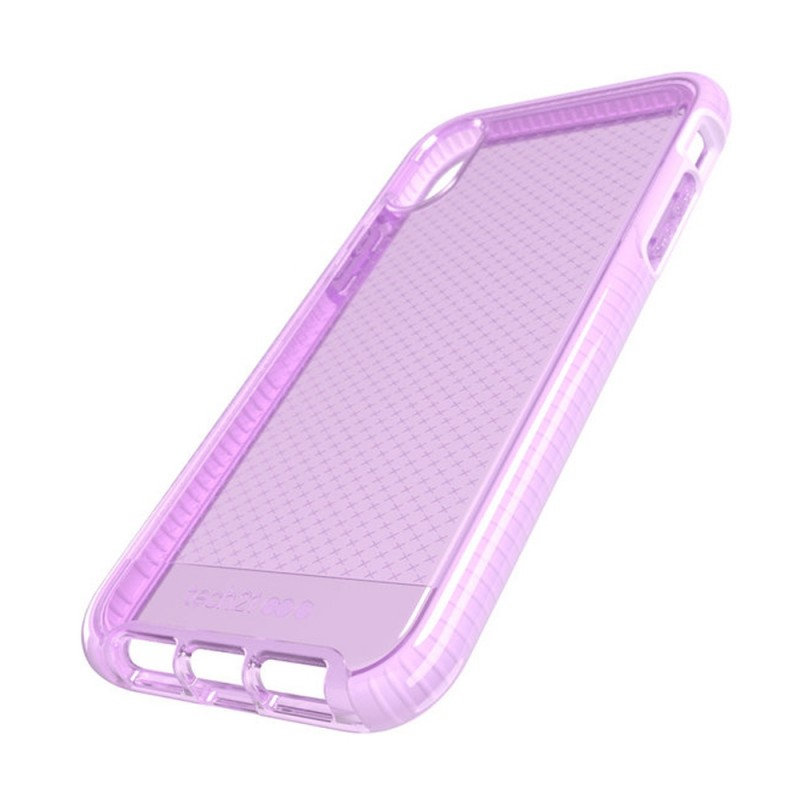 Tech21 Evo Check iPhone XR Hoesje Orchid 09