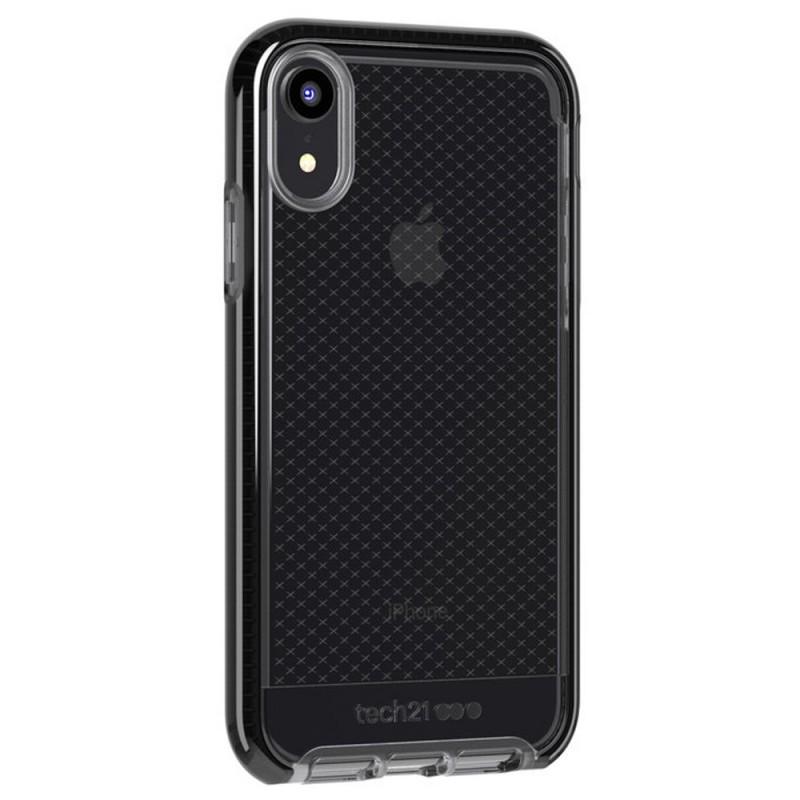 Tech21 - Evo Check iPhone XR Hoesje Zwart Transparant 04