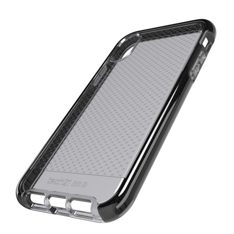 Tech21 - Evo Check iPhone XR Hoesje Zwart Transparant 07