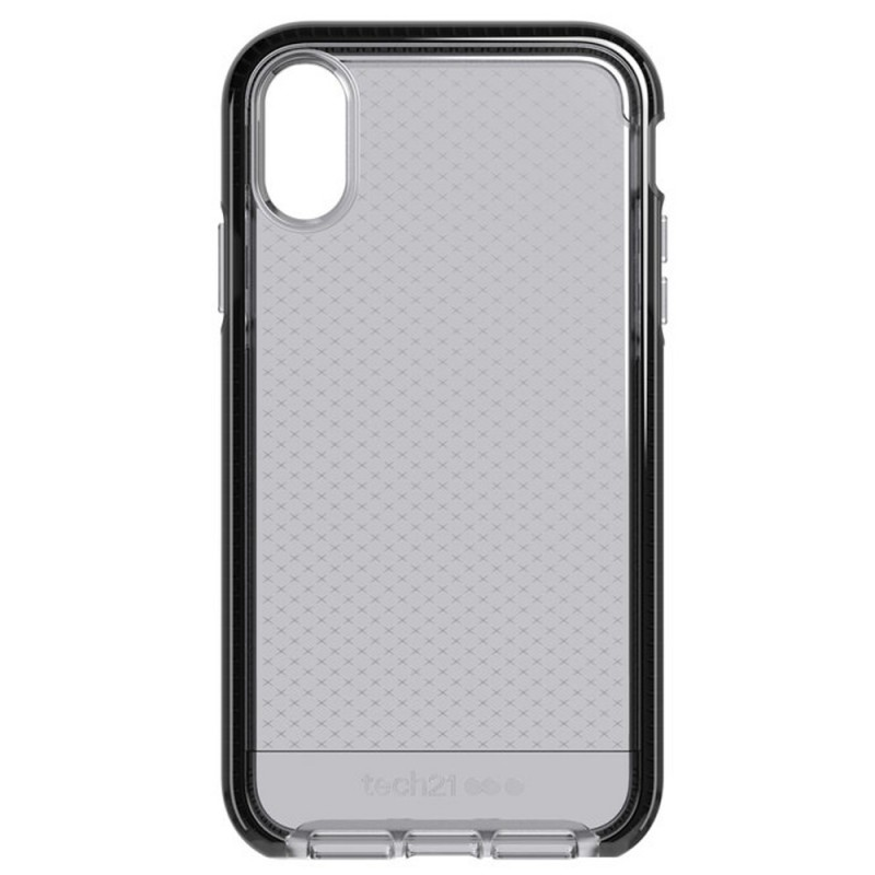 Tech21 - Evo Check iPhone XR Hoesje Zwart Transparant 10