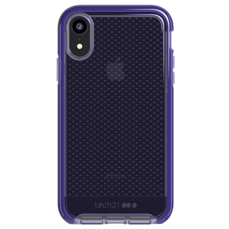 Tech21 Evo Check iPhone XR Hoesje Violet 01