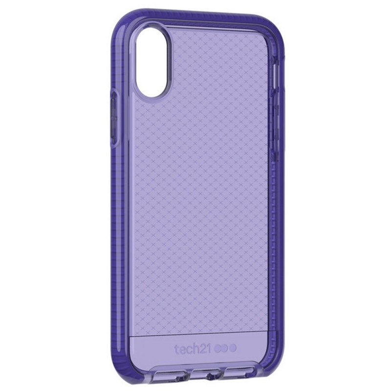 Tech21 Evo Check iPhone XR Hoesje Violet 04
