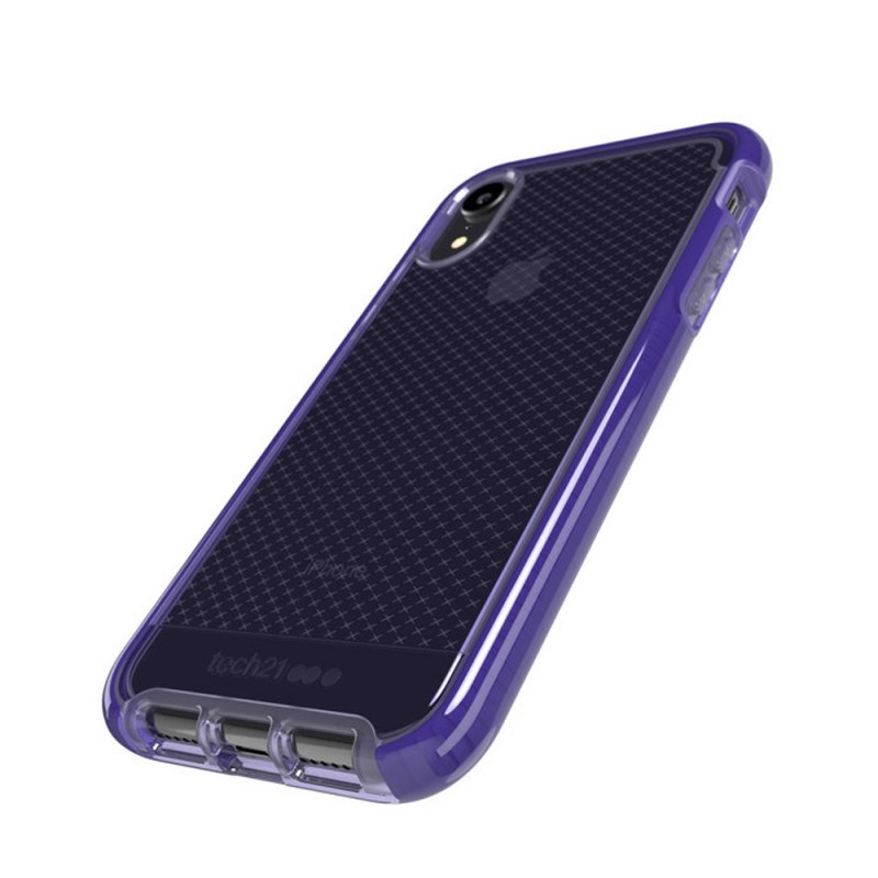 Tech21 Evo Check iPhone XR Hoesje Violet 03