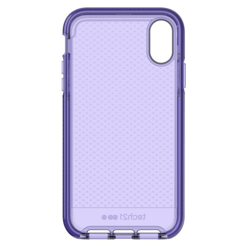 Tech21 Evo Check iPhone XR Hoesje Violet 09