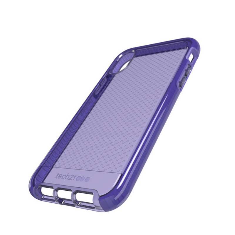 Tech21 Evo Check iPhone XR Hoesje Violet 08