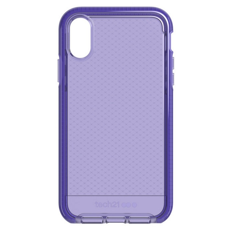 Tech21 Evo Check iPhone XR Hoesje Violet 10