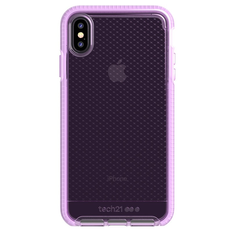 Tech21 Evo Check iPhone XS Max Hoes Orchid 01