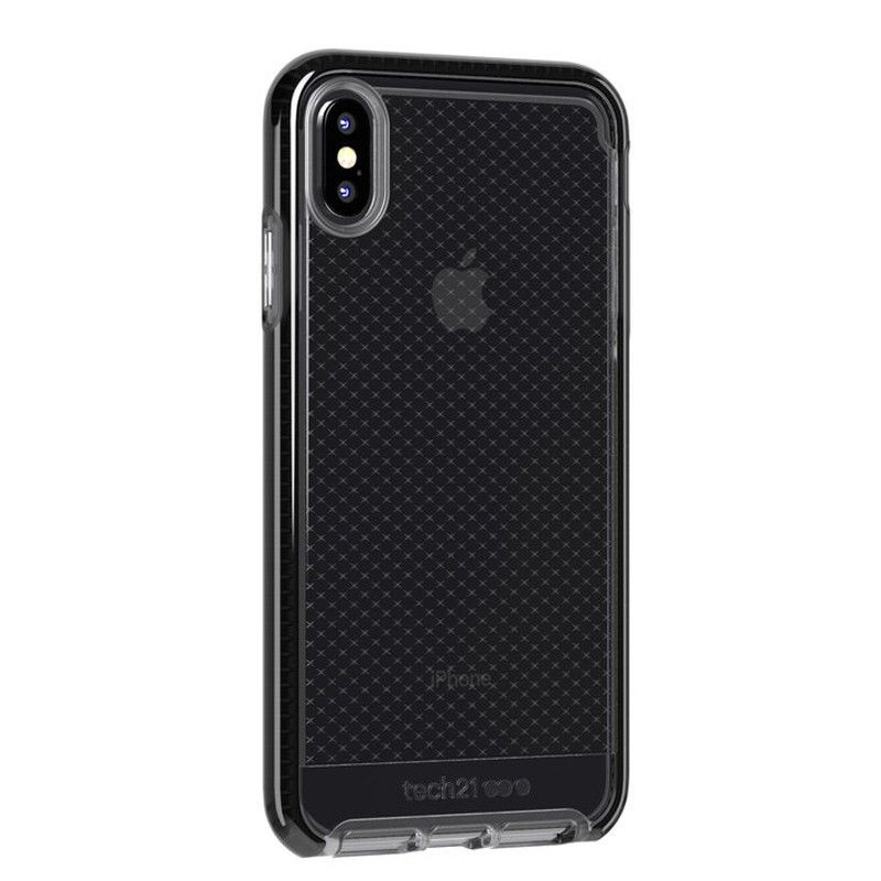 Tech21 Evo Check iPhone XS Max Hoes Smokey Black 02
