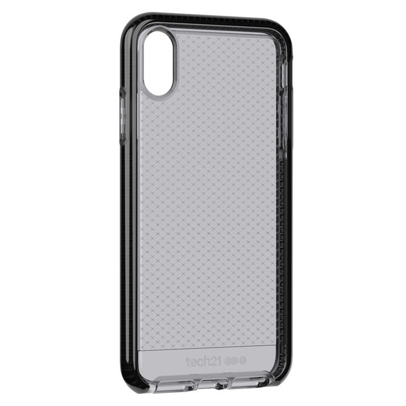 Tech21 Evo Check iPhone XS Max Hoes Smokey Black 04