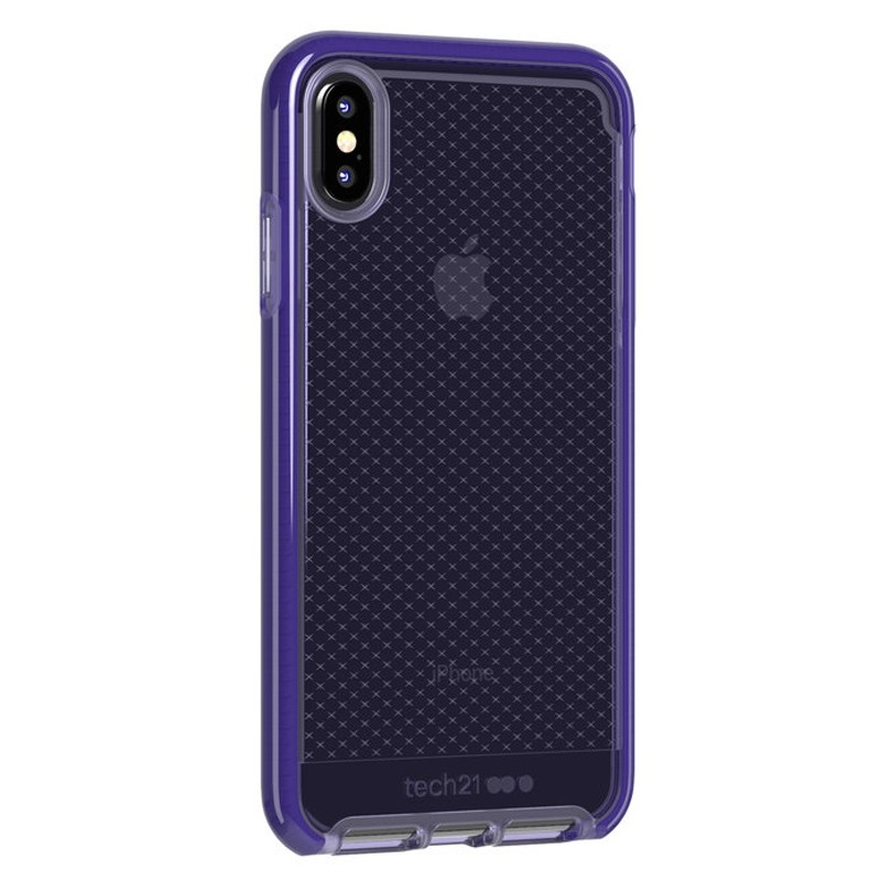 Tech21 Evo Check iPhone XS Max Hoes Ultra Violet 02