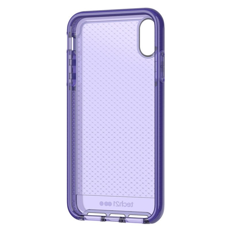 Tech21 Evo Check iPhone XS Max Hoes Ultra Violet 06