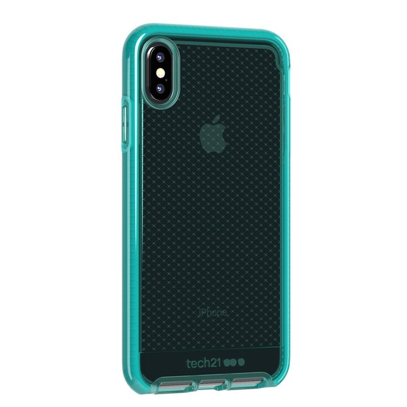 Tech21 Evo Check iPhone XS Max Hoes Ultra Vert 02