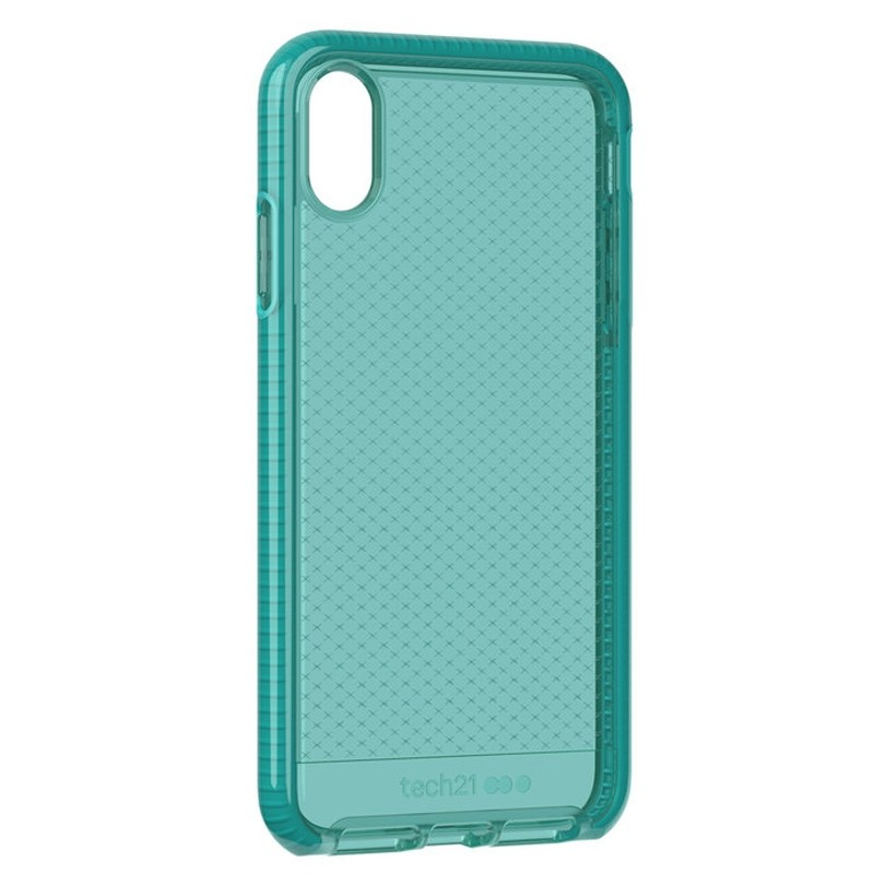Tech21 Evo Check iPhone XS Max Hoes Ultra Vert 04