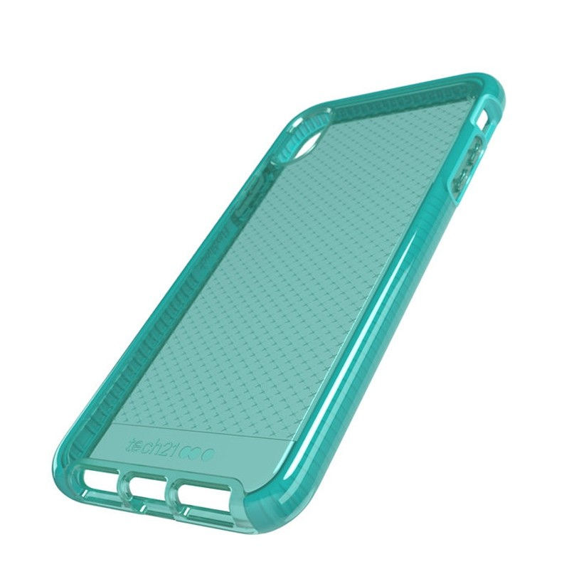 Tech21 Evo Check iPhone XS Max Hoes Ultra Vert 06