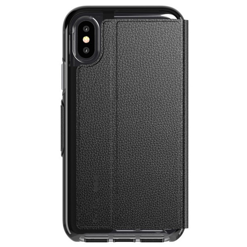 Tech21 Evo Wallet iPhone X/XS Hoes Zwart 02