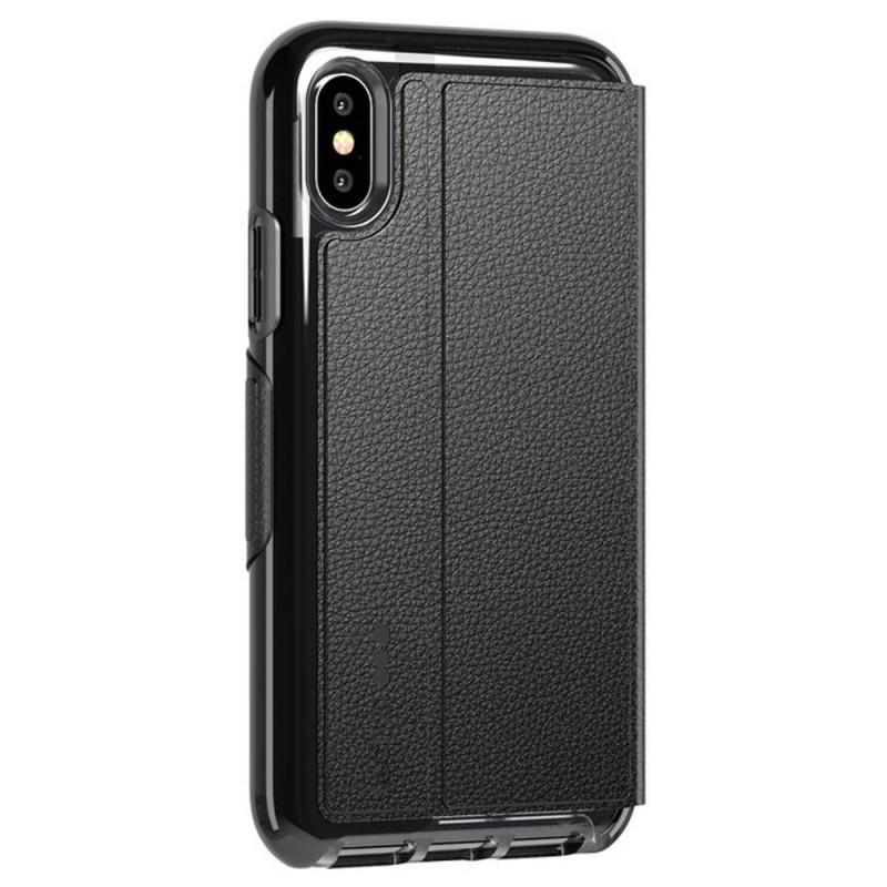 Tech21 Evo Wallet iPhone X/XS Hoes Zwart 06