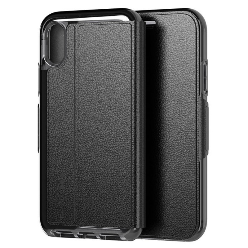 Tech21 Evo Wallet iPhone X/XS Hoes Zwart 10