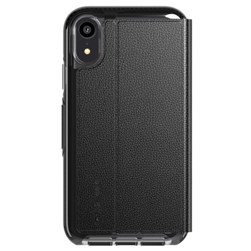 Tech21 Evo Wallet iPhone XR Case Zwart 02