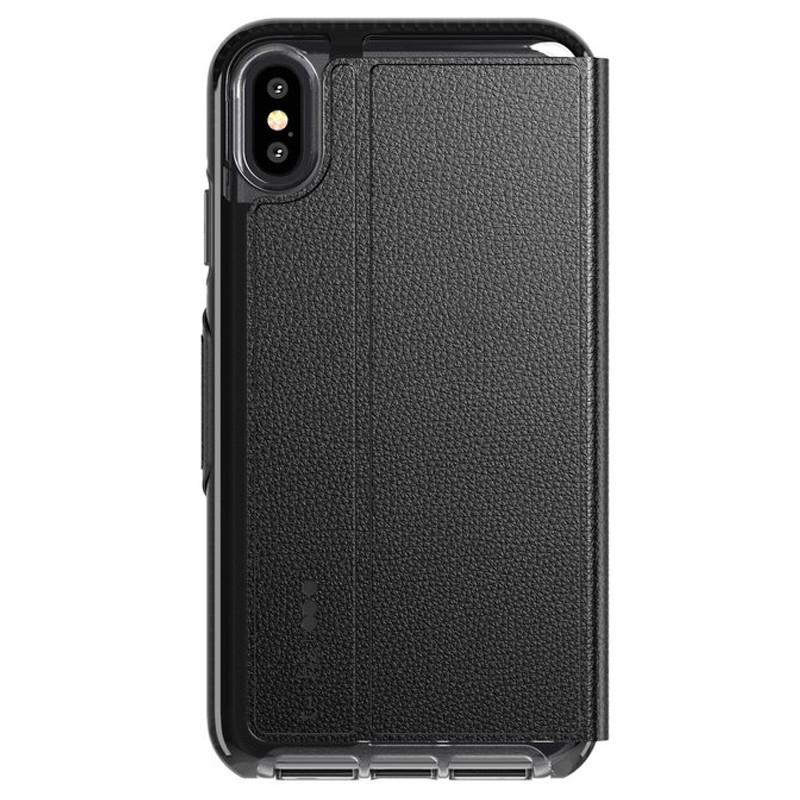 Tech21 Evo Wallet iPhone XS Max Hoesje Zwart 02