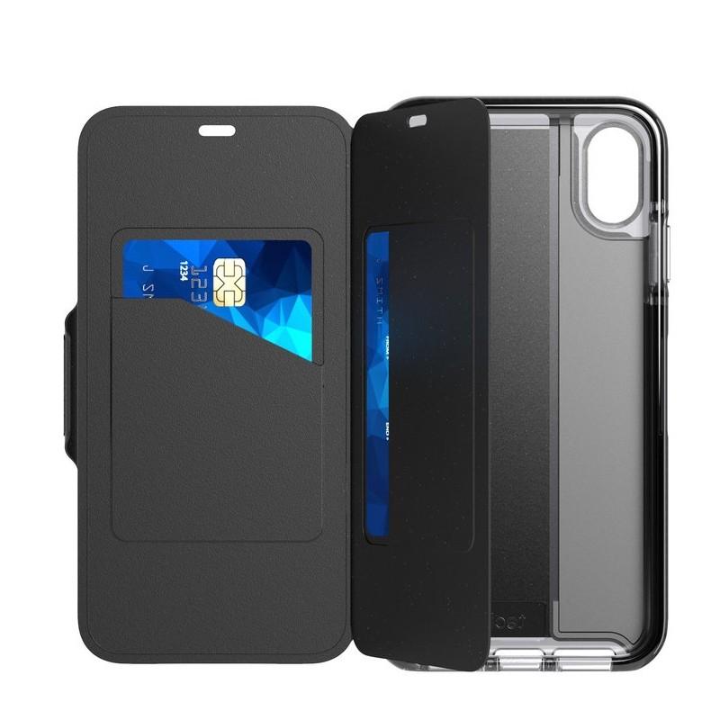 Tech21 Evo Wallet iPhone XS Max Hoesje Zwart 03