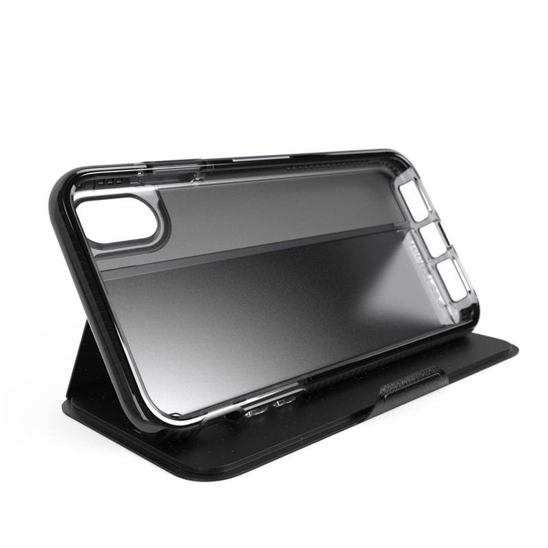 Tech21 Evo Wallet iPhone XS Max Hoesje Zwart 05