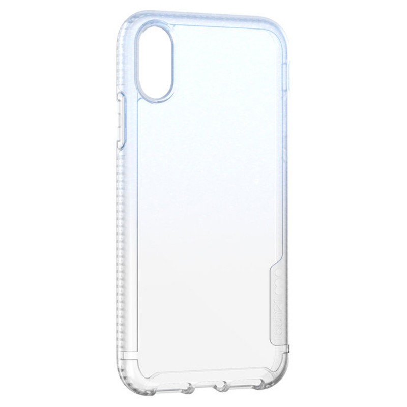 Tech21 Pure Shimmer iPhone XR Hoesje Blauw Transparant 04