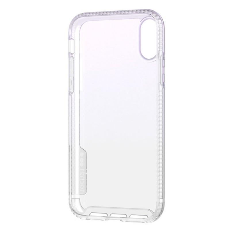 Tech21 Pure Shimmer iPhone XR Hoesje Roze Transparant 05