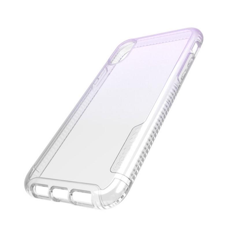 Tech21 Pure Shimmer iPhone XR Hoesje Roze Transparant 06