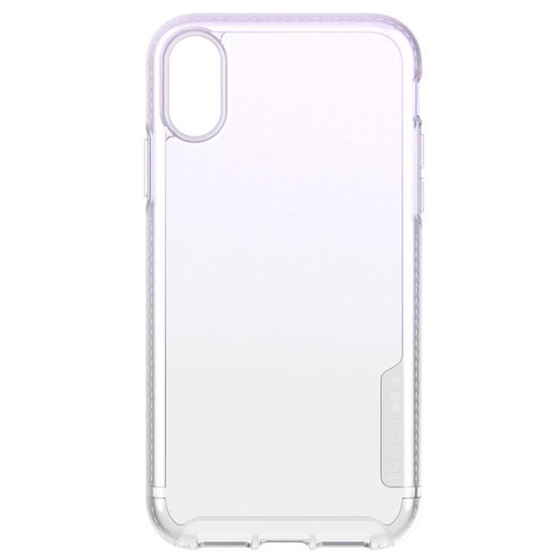 Tech21 Pure Shimmer iPhone XR Hoesje Roze Transparant 07