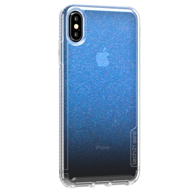 Tech21 Pure Clear iPhone XS Max Case Gradient Blue 02