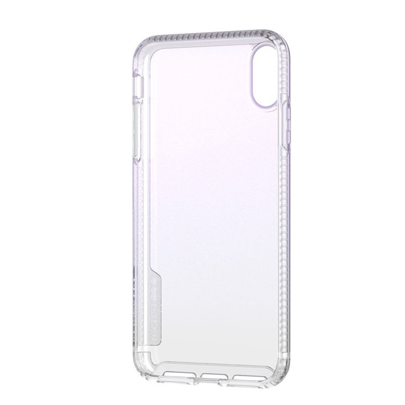 Tech21 Pure Clear iPhone XS Max Case Gradient Blue 06