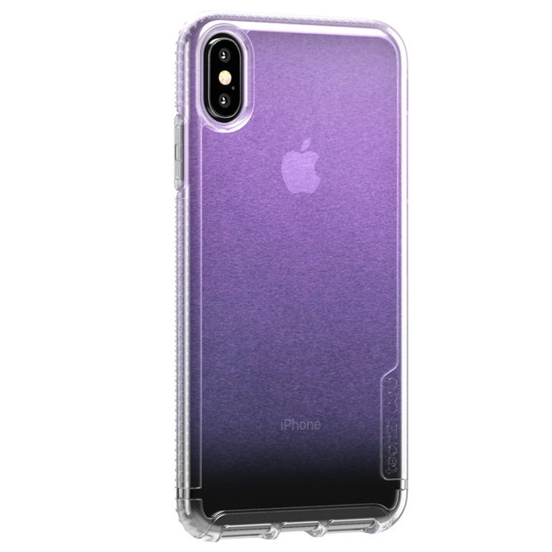 Tech21 Pure Clear iPhone XS Max Case Gradient Pink 02