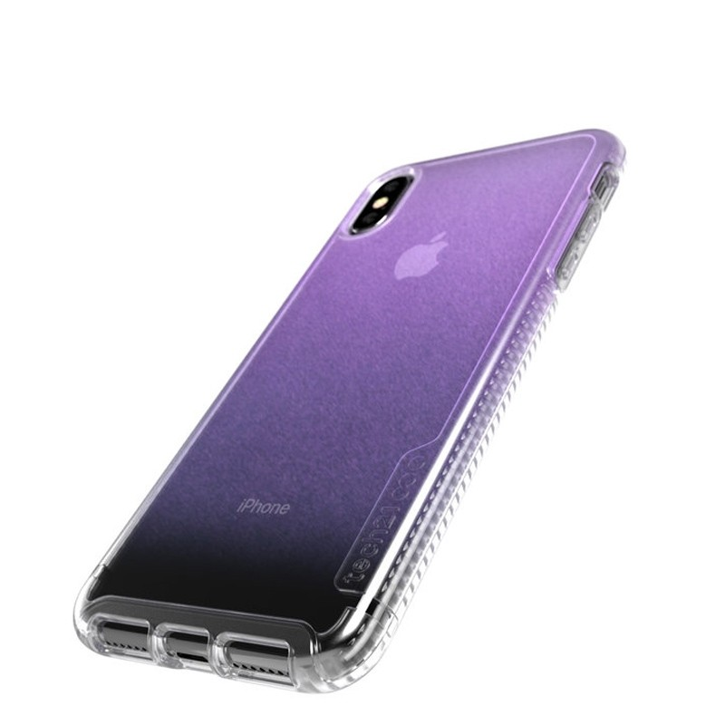 Tech21 Pure Clear iPhone XS Max Case Gradient Pink 03