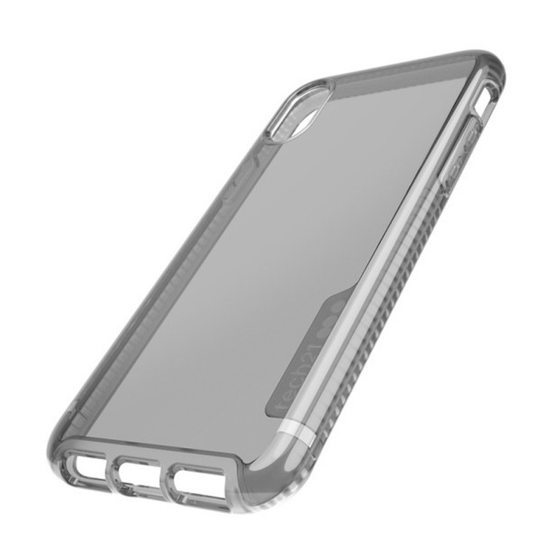 Tech21 Pure Tint iPhone X/XS Case Carbon Clear 08
