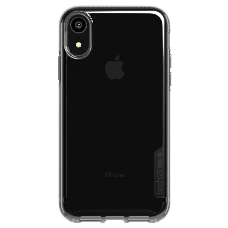 Tech21 Pure Carbon iPhone XR Case Carbon Zwart 01