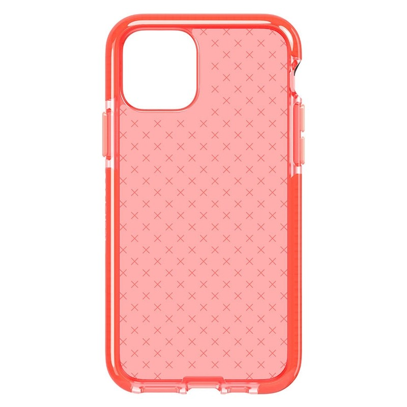 Tech21 - Evo Check iPhone 11 Hoesje coral pink 02