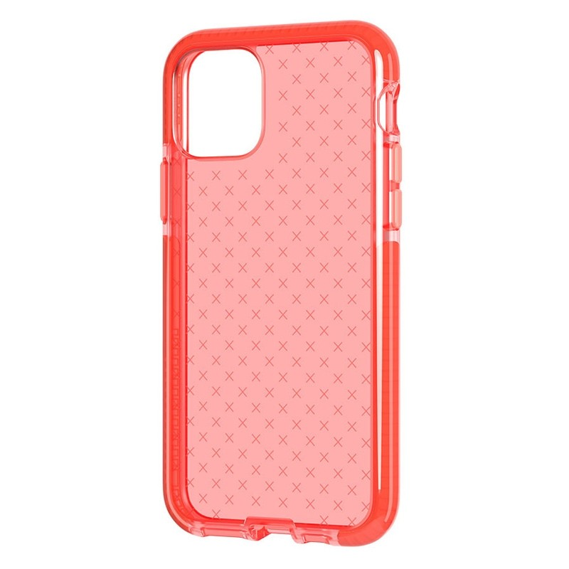 Tech21 - Evo Check iPhone 11 Hoesje coral pink 01