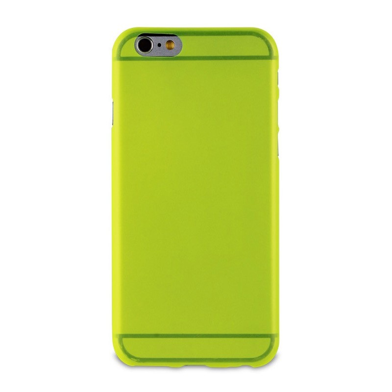 Muvit ThinGel iPhone 6 Plus Acid Green - 2